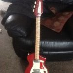Burns Fenton Weil Electric Guitar
