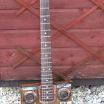 Custom Bo Diddley style guitar
