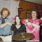 With Wayne & Crystal, 1978