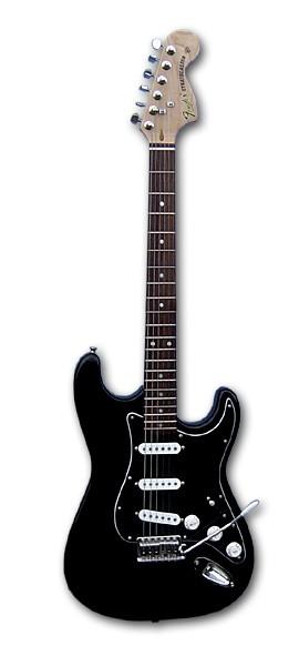 'Fender' Custom Black Stratocaster