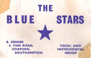 The Blue Stars card