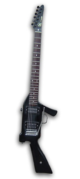 Hondo M-16 Rambo Guitar