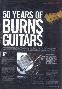 50 Years of Burns Guitars