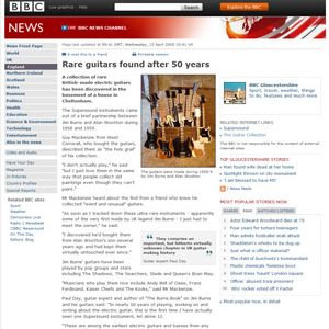 BBC News, 15 April 2009