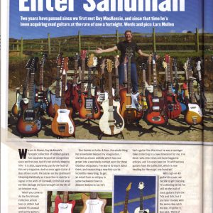 Guitar & Bass Magazine, Winter Special 2008 page 100