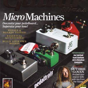Cover to Guitar & Bass Magazine September 2015