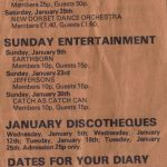 A newspaper advert for the band Earthborn