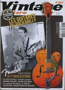 Vintage Guitare, Number 7 March 2012