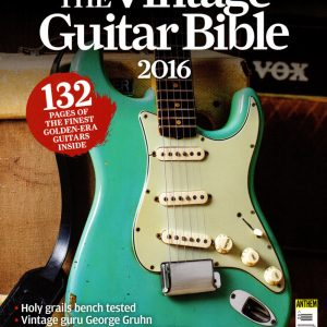 Cover of Vintage Guitar Bible 2016 magazine