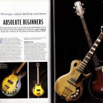 Pages 60-61 of Vintage Guitar Bible 2016 magazine