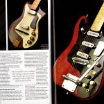 Pages 66-67 of Vintage Guitar Bible 2016 magazine