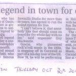 West Briton, Thursday October 30th 2014