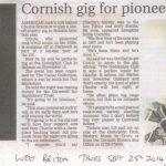 West Briton, Thursday September 25th 2014
