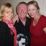 Garry Mills with Amanda and Emma