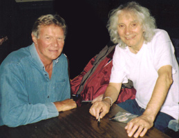 Guy Mackenzie with Albert Lee who told me that his first guitar was a Grazioso Resonet Futurama 3 and he'd love to get hold of another…