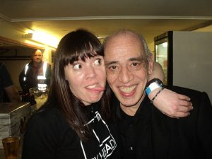 Kc Johnson with Norman Watt Roy
