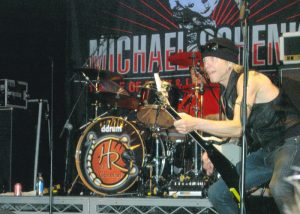 Michael Schenker in Action on Stage
