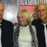Sally with Nik Lennard and Eddie Allen