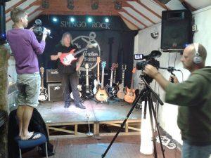 Shark Bay Films filming Al Rideout