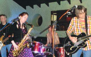 The band Weazeldust in action