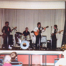 1980s at Butlins, Isle of Sheppey - Bill on right