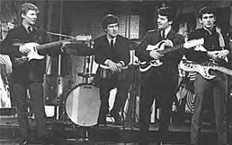The Searchers - Frank's enormous Burns Bison bass seemed to dwarf him!