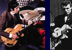 Grimshaw guitars again with Pete Townshend and Bruce Welch