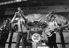 The Who with Pete Townshend and Grimshaw SS (no it's not a Ricky!)