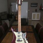 Fenton Weill Triplemaster vintage electric guitar