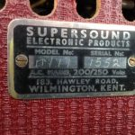 Supersound guitar amplifier.