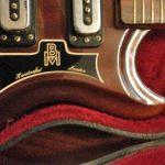 Barnes & Mullins guitar detail