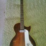 Dallas Tuxedo bass guitar
