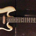 Front of an early Kramer guitar
