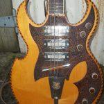 Unknown bass guitar